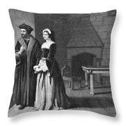 Sir Thomas More (1478-1535) Throw Pillow