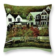 South Terrace Throw Pillow