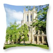 St Edmundsbury Cathedral Throw Pillow