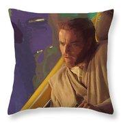 Star Wars 3 Art Throw Pillow