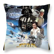 Star Wars Episode V - The Empire Strikes Back 1980 Throw Pillow