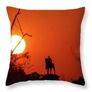 Sunrise At Gettysburg Throw Pillow