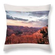 Sunset At Yaki Point 3 Throw Pillow