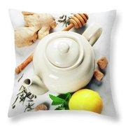 Tea Throw Pillow