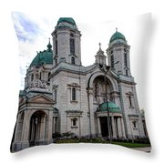 The Basilica Throw Pillow