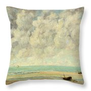 The Calm Sea Throw Pillow