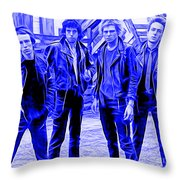 The Clash Collection Throw Pillow