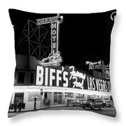 The Las Vegas Strip Throw Pillow