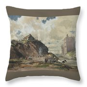 The Way The City Is Built Throw Pillow
