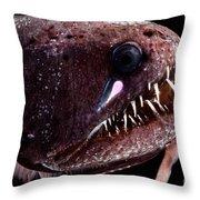 Threadfin Dragonfish Throw Pillow