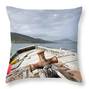 Vatersay Throw Pillow