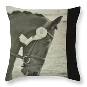 Victory Gallop Throw Pillow