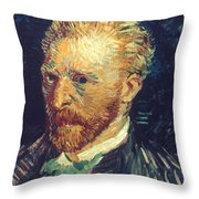Vincent Van Gogh (1853-1890) Throw Pillow
