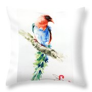 Wild Bird 5 Throw Pillow