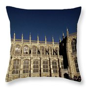 Windsor Castle England United Kingdom Uk Throw Pillow