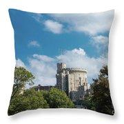 Windsor Castle Throw Pillow