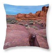 Wupatki National Monument Throw Pillow