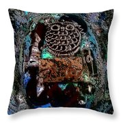 Abstract Orgone Throw Pillow
