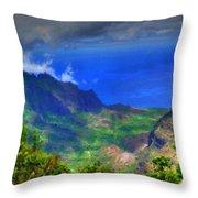 Living Landscape Throw Pillow
