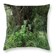 50 Shades Of Green Throw Pillow