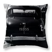 50's Surfer Throw Pillow