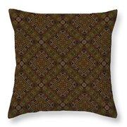 Arabesque 075 Throw Pillow