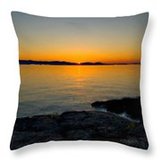 Art Landscape Paintings Throw Pillow