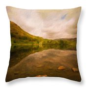 Landscape Definition Nature Throw Pillow