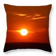 Sunsets Throw Pillow
