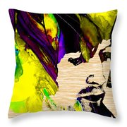 Eric Clapton Collection Throw Pillow