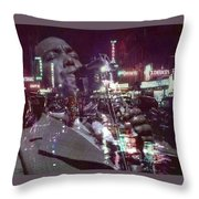 52nd Street Bird Throw Pillow