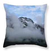 Alaska_00053 Throw Pillow