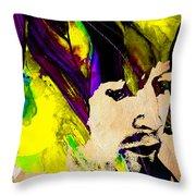 Eric Clapton Collection Throw Pillow