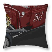 '53 Rat Rod Throw Pillow