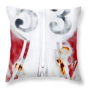 53 Vw Throw Pillow
