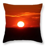 Sunsets Throw Pillow
