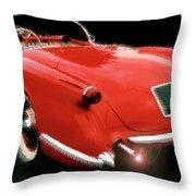 54vette Throw Pillow