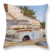 '55 210 Throw Pillow
