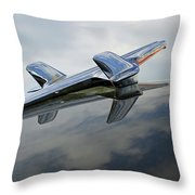 55 Chevy Hood Throw Pillow