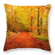 Nature New Landscape Throw Pillow