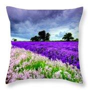 Paint Landscape Throw Pillow