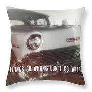 56 Belair In Memphis Quote Throw Pillow
