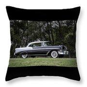 56 Chevy Bel Air Throw Pillow