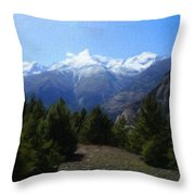 Landscape Az Throw Pillow