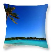 Landscape In Painting Throw Pillow