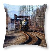 5664 Norfolk Southern Engine Throw Pillow