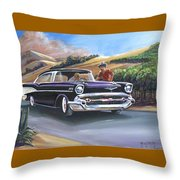 57 Bel Aire In Vineyards Throw Pillow