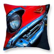 57 Bel Throw Pillow by Garren Zanker
