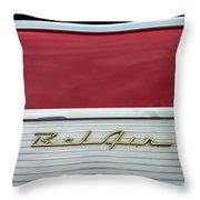 57 Chevy Bel Air Throw Pillow