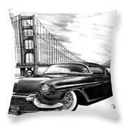 57 Fat Cad Throw Pillow